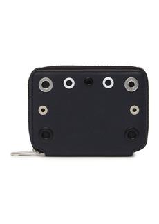 rag & bone Zip Around Grommet Leather Wallet