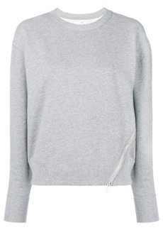 Rag & Bone zip detail sweatshirt