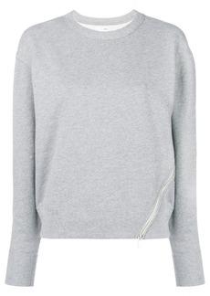 Rag & Bone zip detail sweatshirt