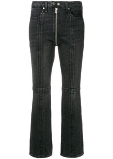 Rag & Bone zipper detail flared jeans