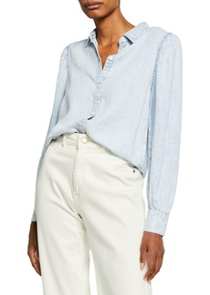 Rails Angelica Chambray Button-Down Shirt
