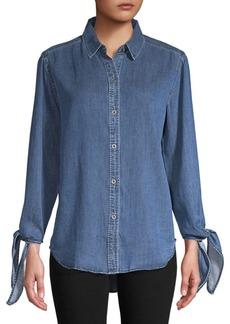 Rails Bethany Tie Sleeve Shirt