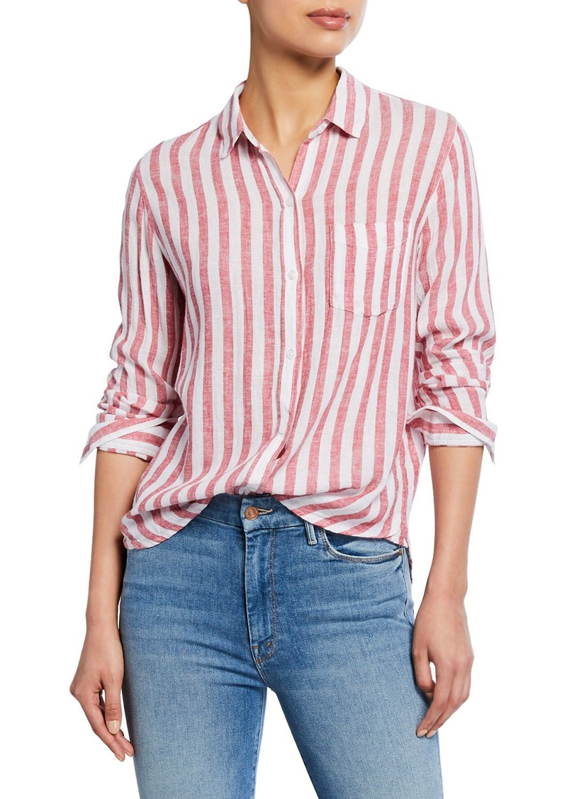 Rails Charli Striped Button-Down Shirt