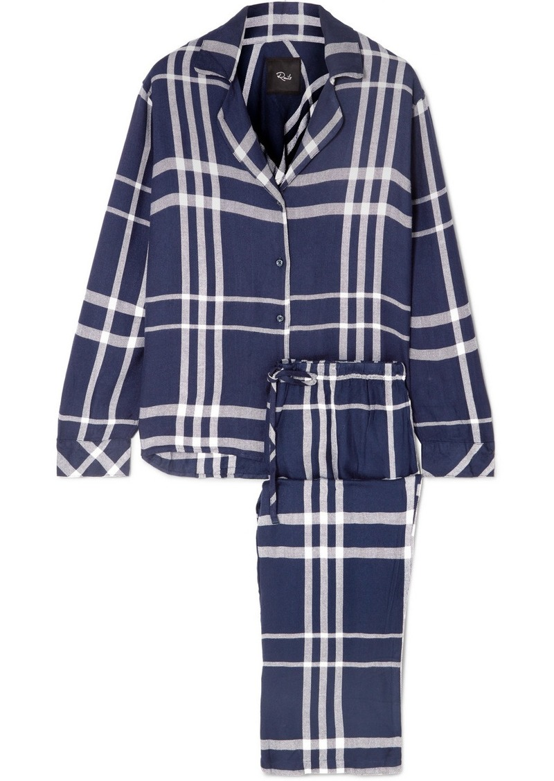 Rails Checked Flannel Pajama Set