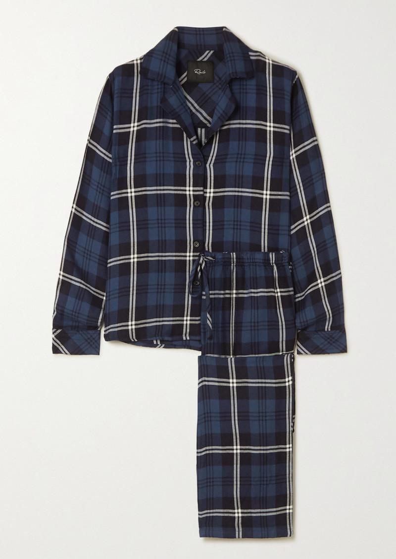 Rails Clara Checked Flannel Pajama Set