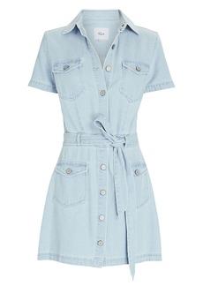 Rails Danica Denim Tie-Waist Mini Dress