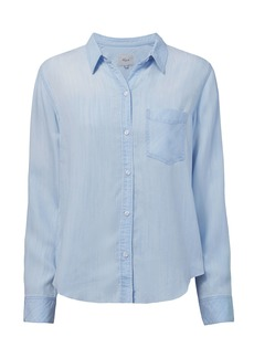 Rails Ingrid Light Vintage Raw Hem Shirt