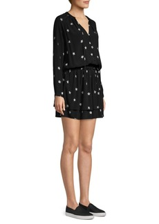 Rails Jasmine Star Ruffle Hem Mini Dress