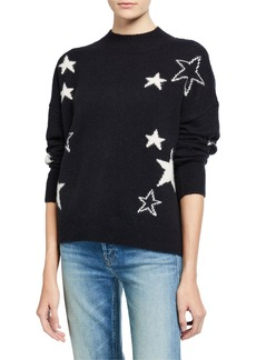 Rails Kana Star-Print Wool-Cashmere Sweater
