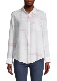 Rails Kate Printed Silk Shirt
