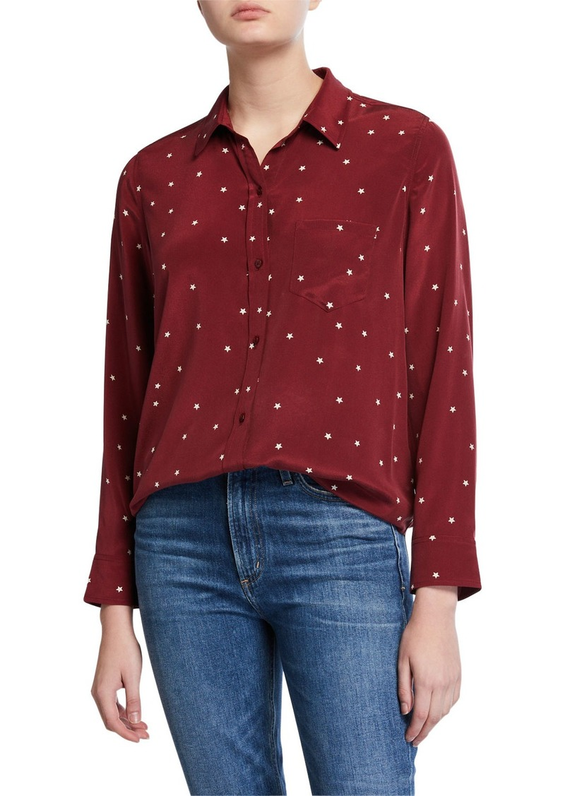 Rails Kate Stars Silk Shirt