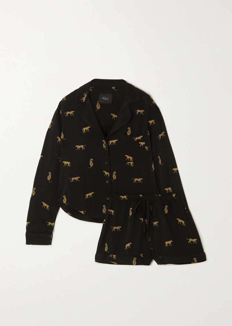 Rails Kellen Printed Twill Pajama Set