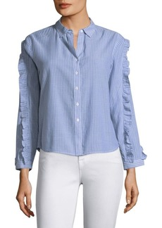 Rails Lizzi Stripe Button-Down Shirt