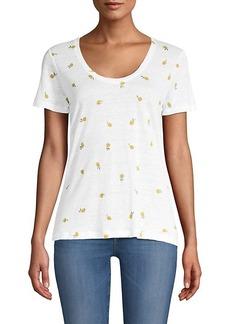 Rails Luna Lemon-Print T-Shirt