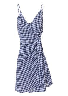 Rails Malia Gingham Wrap Dress