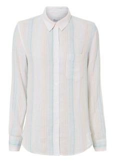 Rails Marbella Stripe Button Down Shirt