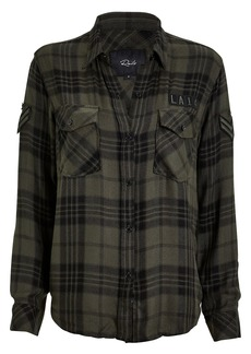 Rails Pepper Plaid Button Front Shirt