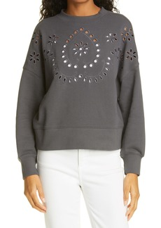 Rails Alice Eyelet Detail Sweatshirt