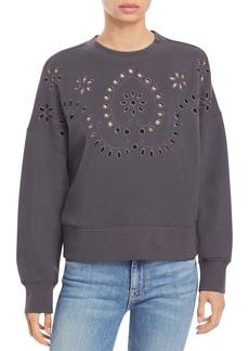 Rails Alice Eyelet Sweatshirt