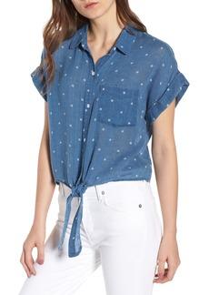 Rails Amelie Tie Front Shirt