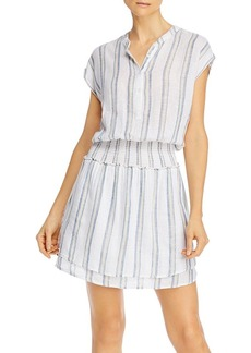 Rails Angelina Striped Smocked Dress