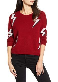 Rails Aries Lightning Detail Merino Wool & Cashmere Sweater