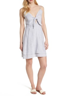 Rails August Stripe Tie Front Dress