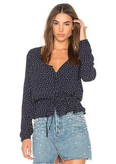 Rails Beaux Blouse in Navy. - size S (also in L,M,XS)
