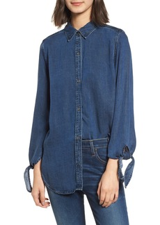 Rails Bethany Tie Cuff Denim Shirt