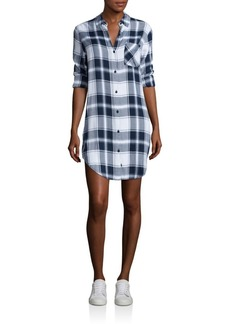 Rails Bianca Long Sleeve Plaid Shirt Dress