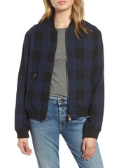 Rails Bolton Buffalo Plaid Wool Blend Jacket