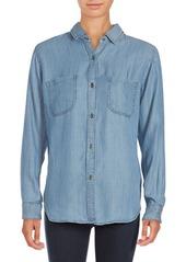 Rails Carter Long-Sleeve Striped Shirt