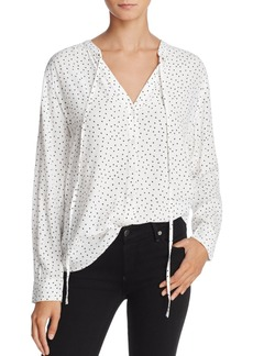 Rails Casey Heart Print Blouse