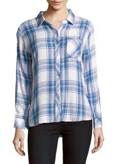 Rails Casual Button-Down Plaid Shirt