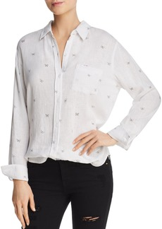 Rails Charli Butterfly-Print Blouse - 100% Exclusive