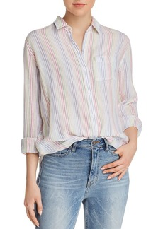 Rails Charli Rainbow Striped Shirt