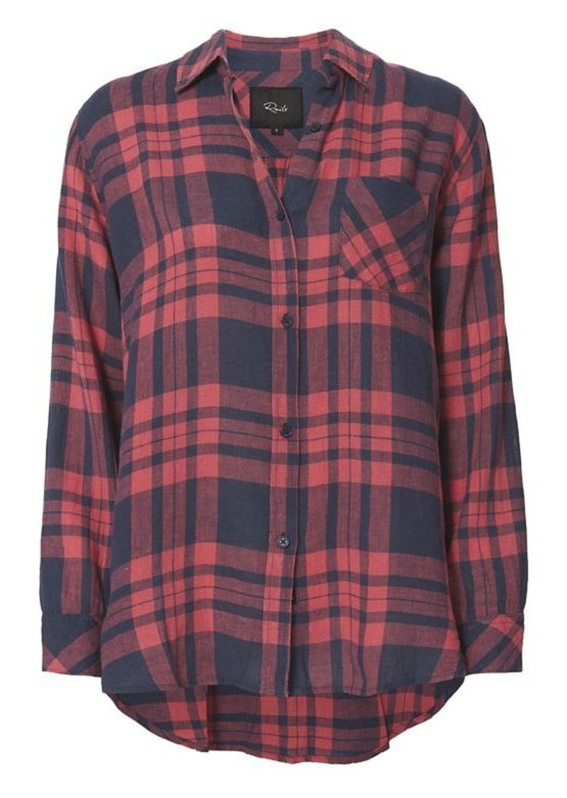 Rails Rails Charlie Maroon Button Down Shirt | Casual Shirts ...