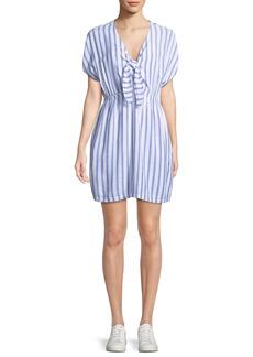 Rails Charlotte Striped Tie-Front Dress