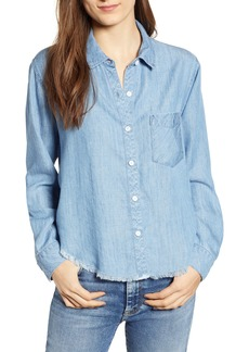 Rails Dana Raw Hem Chambray Shirt