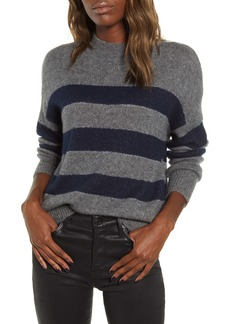 Rails Ellise Stripe Cashmere Blend Sweater