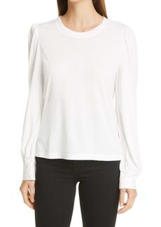 Rails Emilia Blouson Sleeve Cotton & Modal Top