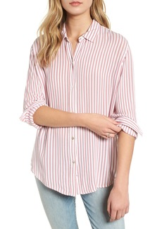 Rails Etta Textured Stripe Blouse