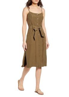 Rails Evie Sleeveless Tie Waist Dress