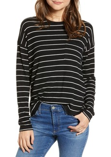Rails Ezra Stripe Pocket Tee