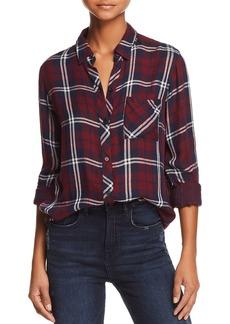 Rails Gemini Metallic Plaid Shirt