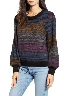 Rails Hailey Rainbow Stripe Wool & Mohair Sweater