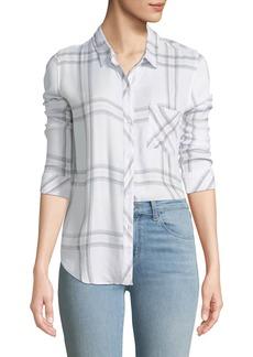 Rails Hunter Button-Front Check Shirt