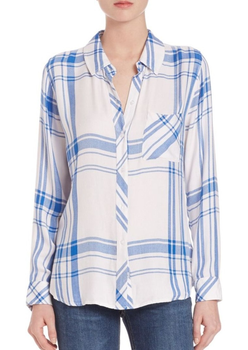 Rails Hunter Herringbone Plaid Shirt