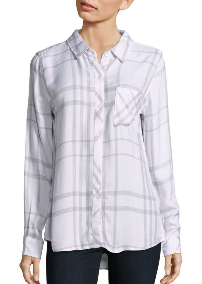 Rails Hunter Long Sleeve Plaid Shirt