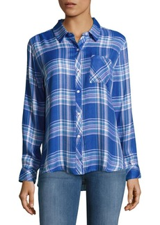 Rails Hunter Plaid Casual Button-Down Shirt
